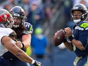 Watch: Russell Wilson delivers pinpoint back-shoulder strike to D.K. Metcalf on third down