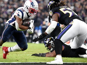 Watch: James White caps Pats' impressive up-tempo drive with strong TD run