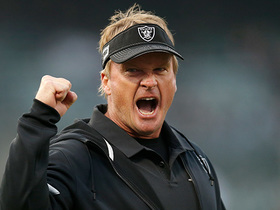 Watch: Jon Gruden dials up 'Spider 2 Y Banana' for key TD before half