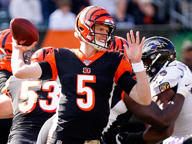Watch: Ryan Finley's first NFL TD pass is back-shoulder dime to Tyler Eifert