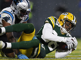 Watch: Tip drill! Packers deny Panthers point with huge end-zone INT
