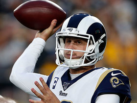 Watch: Goff's fourth-down heave falls to the Heinz Field turf for turnover on downs
