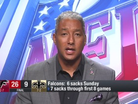Watch: Wyche: Raheem Morris was overlooked star of Falcons' win vs. Saints