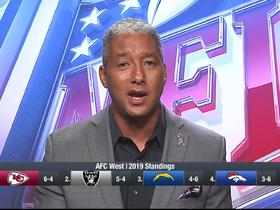 Watch: Wyche: Raiders nipping on heels of Chiefs in AFC West