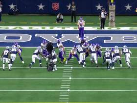 Watch: Tavon Austin calls for fair catch late in fourth quarter of Vikings-Cowboys