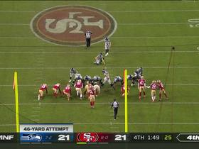 Watch: Jason Myers' 46-yard FG gives Seahawks a late lead