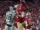 Watch: Can't-Miss Play: Greenlaw ends Seahawks' drive with STELLAR red-zone INT