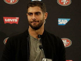 Watch: Jimmy G following 49ers first loss: You have to be critical on yourself