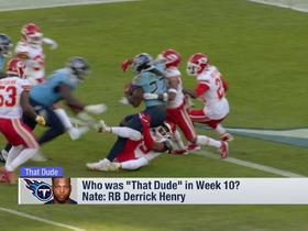 Watch: Burleson: Derrick Henry is the 'main reason' Titans beat Chiefs