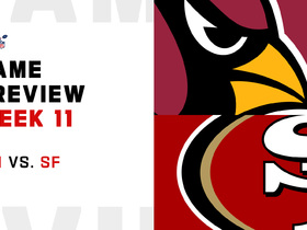 Watch: Cardinals vs. 49ers preview | Week 11