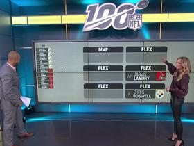 Watch: Frelund projects top fantasy scorers for Steelers-Browns on 'TNF'