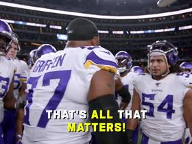 Watch: Mic'd Up: Kyle Rudolph's birthday present is multi-TD game | Week 10