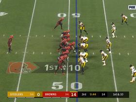 Watch: T.J. Watt can't be stopped on powerful sack of Mayfield