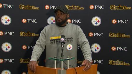 Pittsburgh Steelers Head Coach Mike Tomlin Declines To