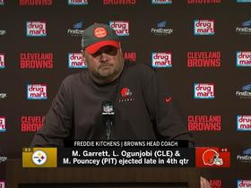 Watch: Freddie Kitchens: 'I'm embarrassed' after 'TNF' skirmish