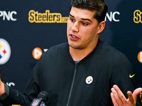 Watch: Mason Rudolph on 'TNF' incident: 'I thought it was pretty cowardly'