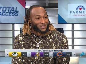 Watch: Aaron Jones explains what he changed in his diet this season