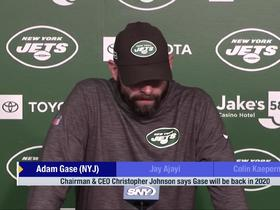 Watch: Adam Gase responds to support from Jets ownership