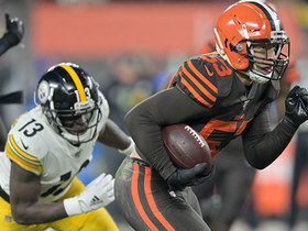Watch: Joe Schobert made his presence known in Week 11 | Baldy's Breakdowns
