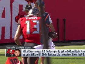 Watch: Mike Evans needs 9.6 fantasy points to join exclusive fantasy club