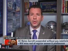 Watch: Rapoport: Rudolph won't take legal action against Garrett after on-field incident