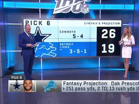 Watch: Cynthia Frelund's picks and fantasy projections for Week 11