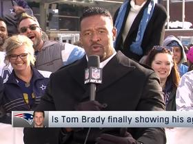 Watch: McGinest has talked to Gronk and right now comeback isn't looking likely