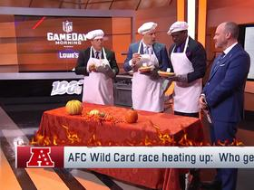 Watch: 'NFL GameDay Morning': Hot pies and AFC wild card predictions