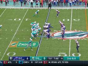 Watch: Cory Liuget explodes through the line for Bills' second sack on Fitzpatrick