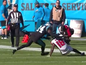 Watch: Calvin Ridley toasts James Bradberry for 26-yard catch