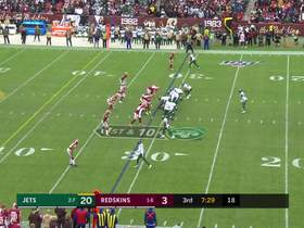 Watch: Darnold finds Ryan Griffin on the bootleg for 26-yard gain