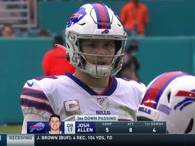 Watch: Josh Allen does it himself with an 8-yard TD scramble on third down