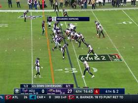 Watch: Marcus Peters blankets DeAndre Hopkins on fourth-down PBU