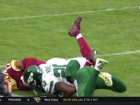 Watch: Can't-Miss Play: McLaurin climbs MAJOR ladder on 41-yard sideline grab