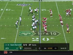 Watch: Every touchdown pass by Sam Darnold vs. Redskins | Week 11