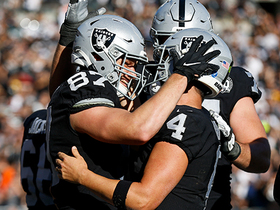 Watch: Derek Carr floats throwback to Foster Moreau for wide-open TD