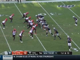 Watch: Darren Waller works open across the field for 32-yard catch and run