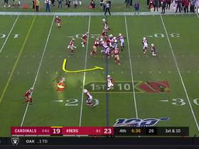 Watch: Kyler, the Creator! Murray beats Bosa on zone-read for 22-yard TD run