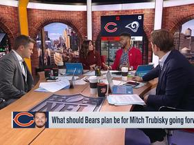 Watch: Burleson: Why Bears should 'explore options' at QB position