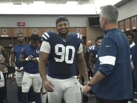 Watch: Jacoby Brissett breaks down Colts huddle in postgame speech