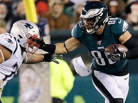 Watch: Giardi: Gilmore said Ertz was 'crying' for calls in Week 11