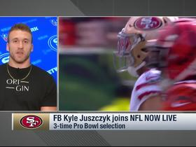 Watch: Kyle Juszczyk: There's currently a 'resurgence' of the fullback position