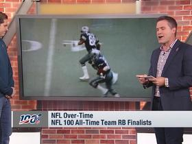 Watch: 'GMFB' reveals interesting facts about the NFL 100 All-Time RB finalists