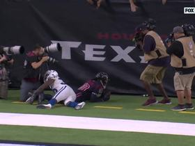 Watch: Hopkins cooks Desir off the line with clean release for second TD