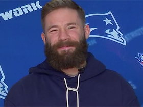 Watch: Julian Edelman previews Pats' matchup vs. Cowboys