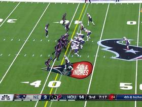Watch: Mohamed Sanu can't haul in fourth-down pass under pressure