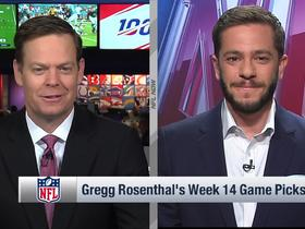 Watch: Gregg Rosenthal's game picks, upset special for Week 14