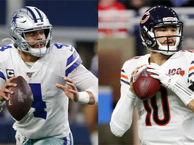 Watch: 'TNF' stat projections for Cowboys-Bears | 'NFL Fantasy Live'