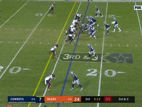 Watch: Can't-Miss Play: Khalil Mack makes shoestring sack on Dak