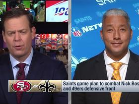 Watch: Wyche: Saints getting reinforcements to help combat Nick Bosa, 49ers